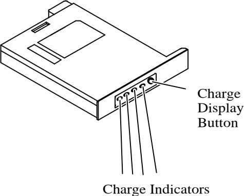 Charge Display Button Charge Indicators