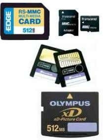 Gb. Multimedia Card (MMC) . Con una capacidad de hasta 1 gb. Mini MMC . Usadas