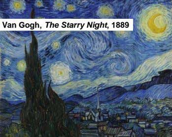 Vincent Van Gogh, The Starry Night , 1889