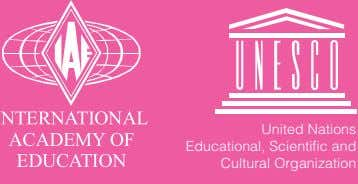 United Nations Educational, Scientific and Cultural Organization 1