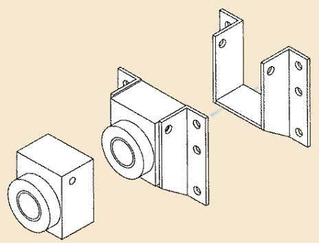 make and model of your screen. F o o T SHAFT ATTACH m ENTS Block Style
