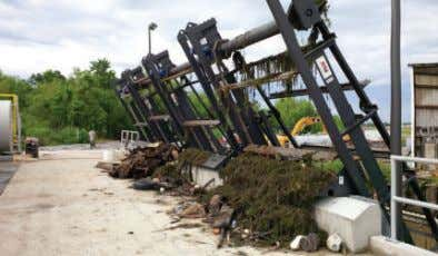 TRASH RAKES Trash Rakes' main function is to prevent large pieces of debris from reaching
