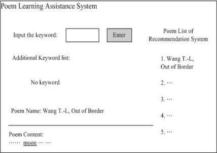 of Border). Figure 6(a) Student User Interface in Chinese Figure 6(b) Student User Interface in English