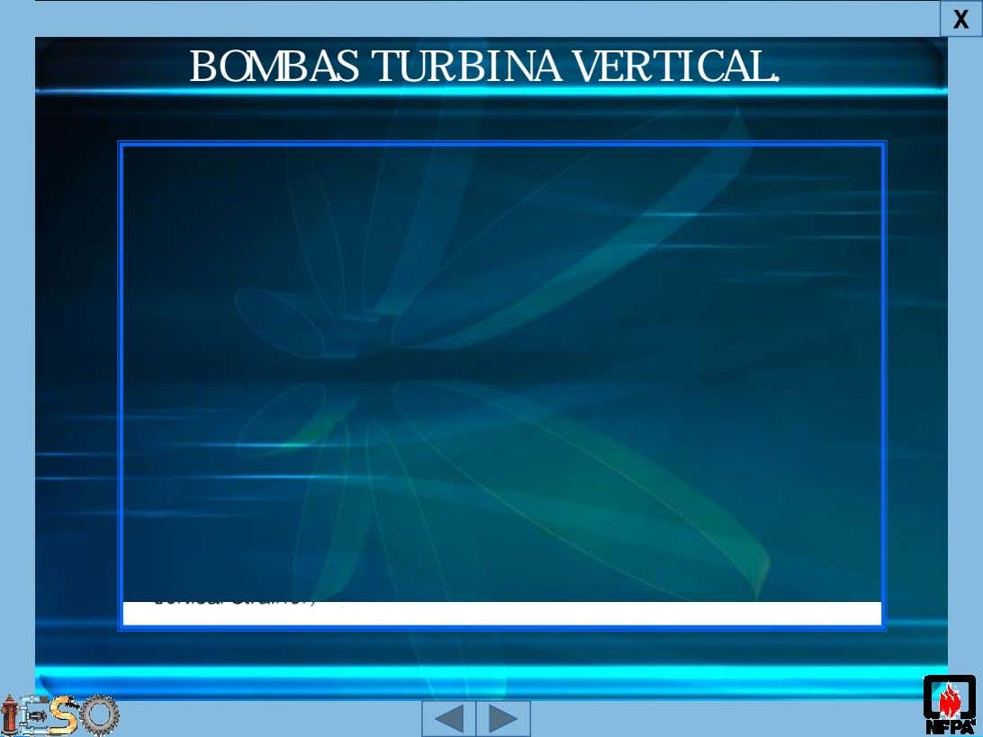 X BOMBAS TURBINA VERTICAL.