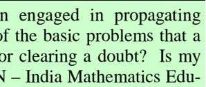 Since many years people have been engaged in propagating mathematics in many different ways. One