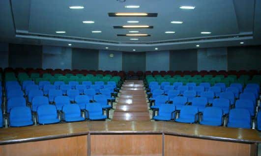 Tariff for Seminar Halls in Platinum Jubilee Guest House Occupancy Seminar Hall/Function @University