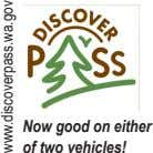 Now good on either of two vehicles! www.discoverpass.wa.gov