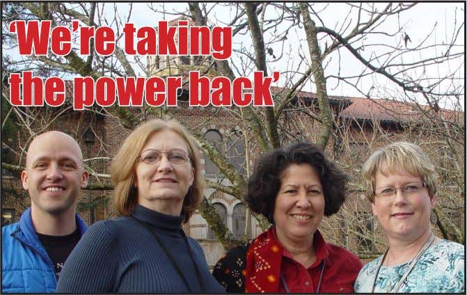 'We're taking the power back'