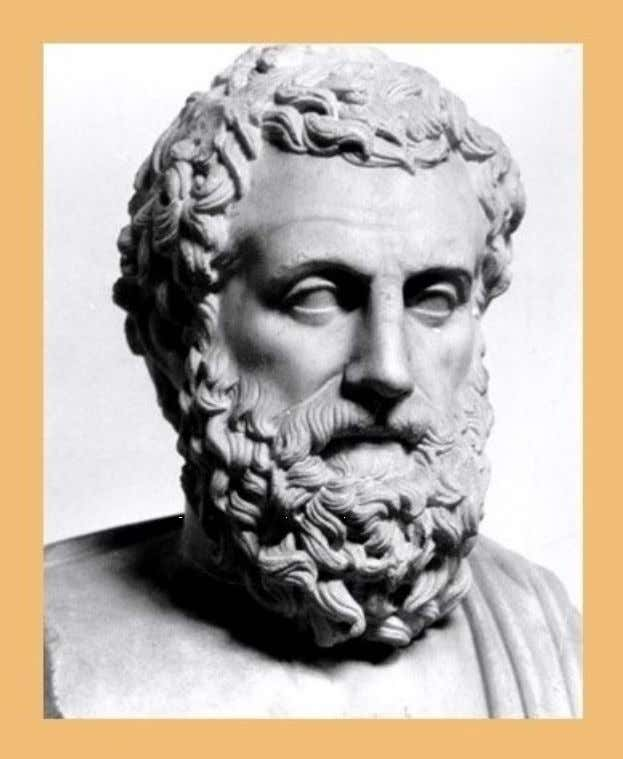 A bust of Aristotle - The photo was taken from …