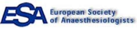 synopsis. [Hint Number 26] Help from the Europeans The European Society of Anesthesiologists maintains a large