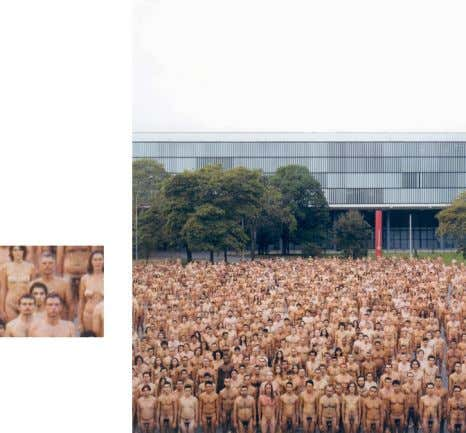 "Adrift "", do fotógrafo norte-americano Spencer Tunick: 34 A performance foi reapresentada no Museu de Arte"