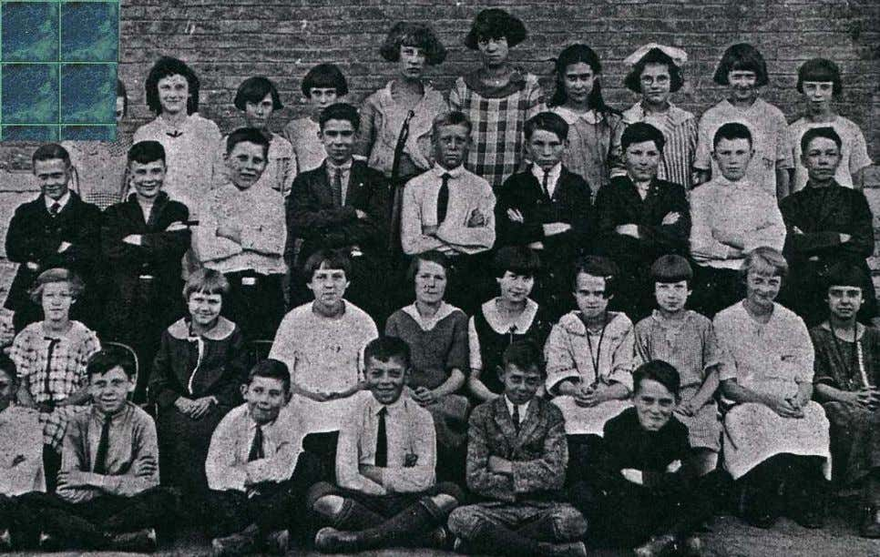 Grade 7: 1924-25 Pictured above is a group of Grade Seven students from St. Francis Xavier