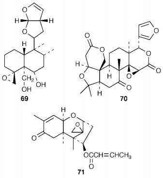 majority of the terpenoid structures that were reported in the 1960 ' s were based on