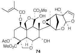 tool in the study of groups of terpenoid natural products. The structural studies on the taxanes