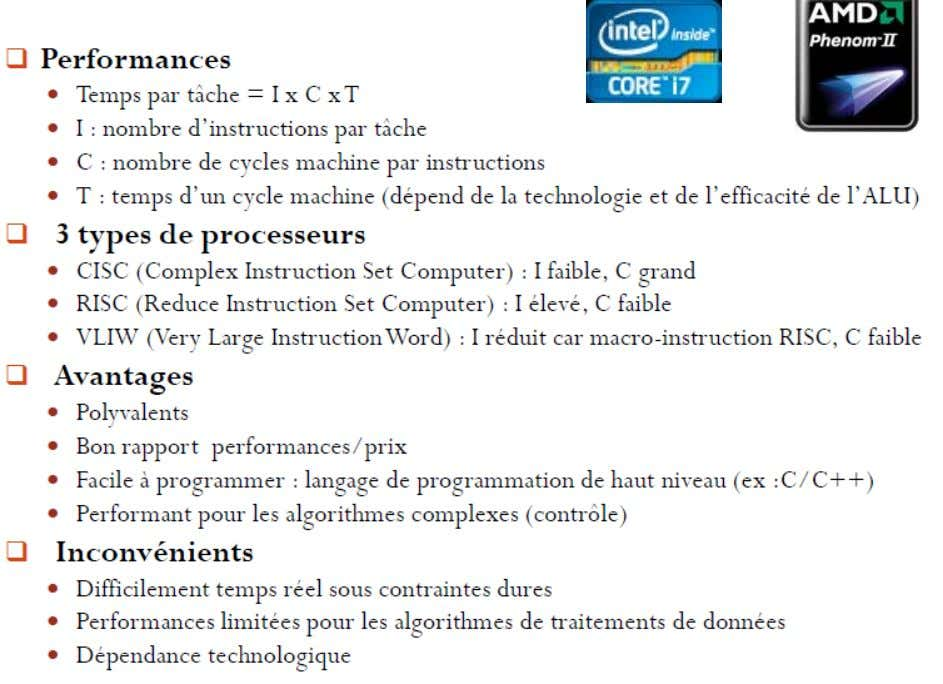 1. Introduction  Les µP : 9/72