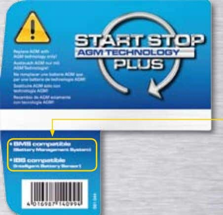 Start-Stop Plus Batterien