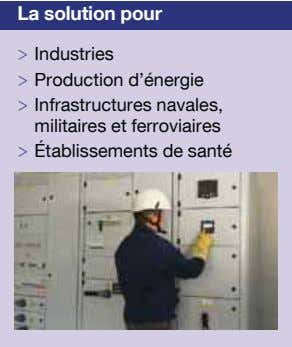 La solution pour > Industries > Production d'énergie > Infrastructures navales, militaires et