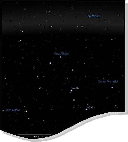 seven stars of the Plough will be, at some time of the year, visible north of