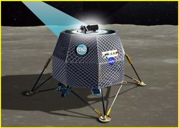jump-started the path of getting humans back on the Moon! An artist conception of the lander