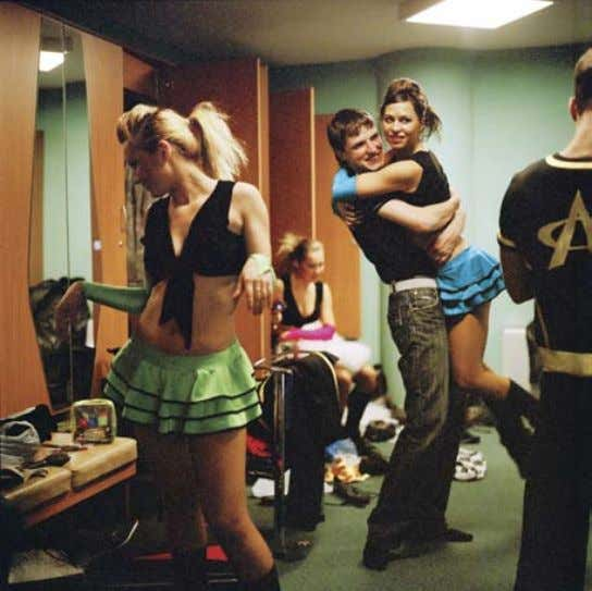 phiLipp eBeLing United Kingdom Nastya and Alexey in the Banja : Cheerleaders : From the series Perestroika