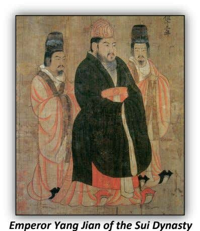 Emperor Yang Jian of the Sui Dynasty
