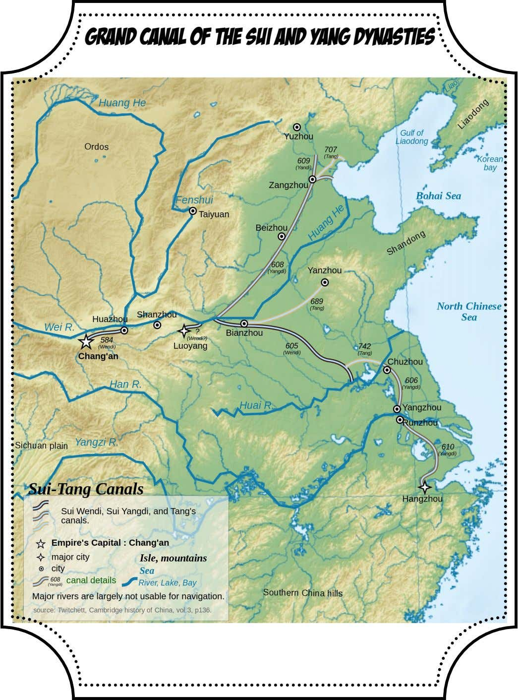 Grand Canal of the Sui and Yang Dynasties