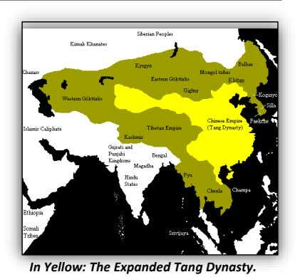 In Yellow: The Expanded Tang Dynasty.