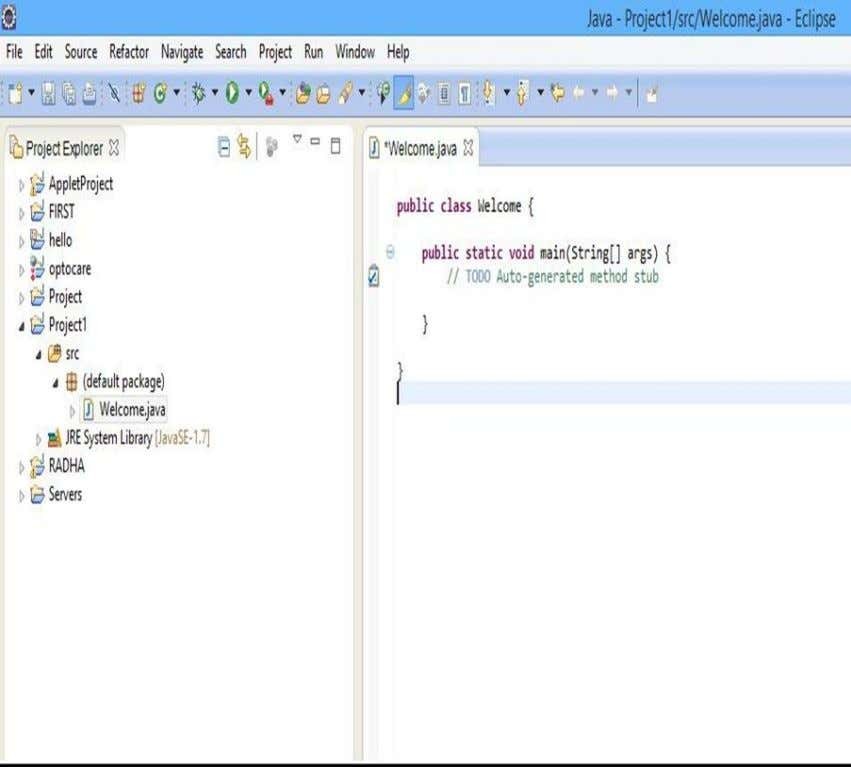 to document their code. Edit this file and insert the code for Java Program. Narsimha Reddy
