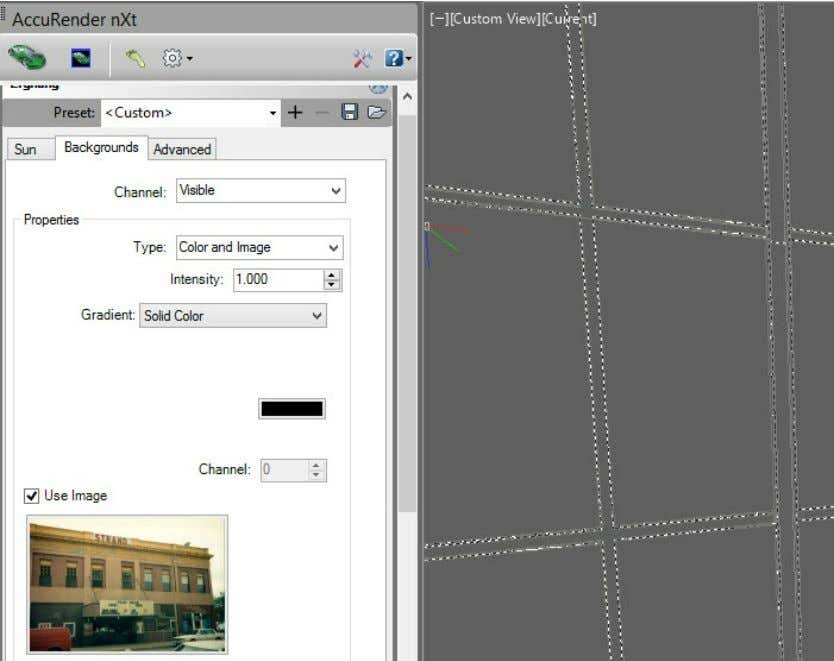 Rendering with AutoCAD using nXtRender From the nXtRender Ribbon, select Image Wizard This will load the