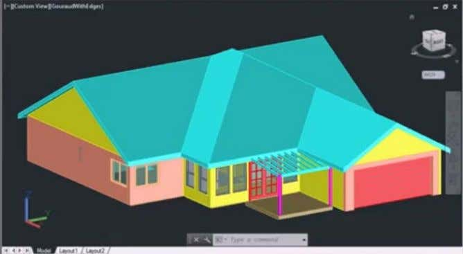 from: AccuStudio Load the model into AutoCAD and start nXt Step 2 - Add a Ground