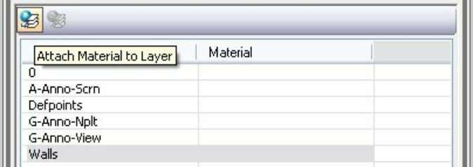 the layer list. Click the Attach Material to Layer button. Drag and drop the material file
