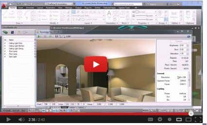 information on using IES (photometric) lights . Video Tutorial Interior Lights Video - 71 - The