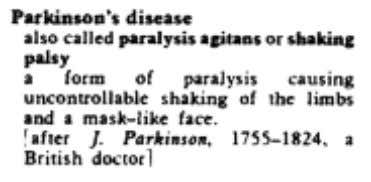 THE USE OF ANIMALS IN PARKINSON'S DISEASE RESEARCH Incidence and mortality Parkinson's Disease (PD) is