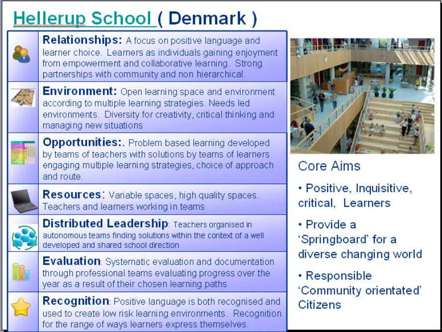 made and more in depth holistic questioning can take place Hellerup is an outstanding school in