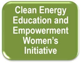 Clean Energy Education and Empowerment Women's Initiative