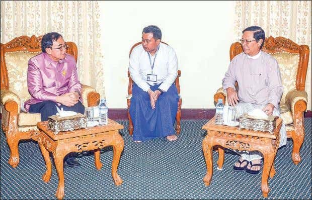 2 3 FEBRUARY 2019 THE GLOBAL NEW LIGHT OF MYANMAR Senior General Min Aung Hlaing meets