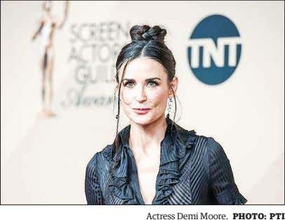 Actress Demi Moore. PHOTO: PTI