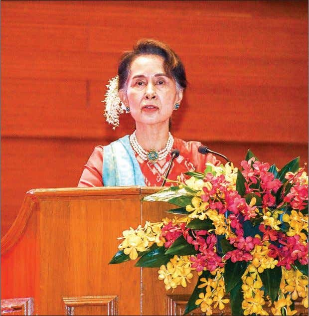 3 FEBRUARY 2019 THE GLOBAL NEW LIGHT OF MYANMAR NATIONAL Keynote Speech by the State Counsellor