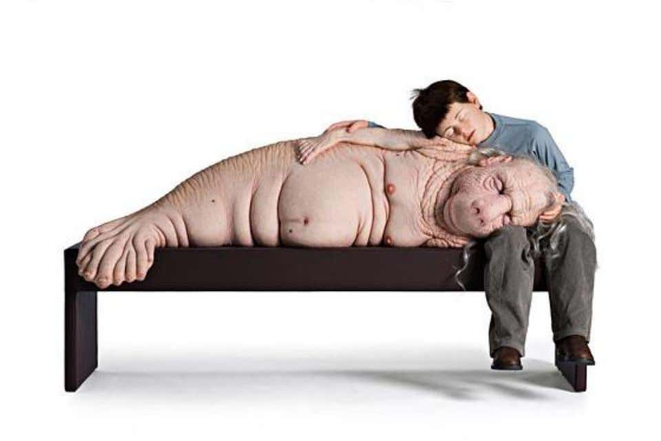 (Fig. 30) Patricia Piccinini's The Long Awaited (2008). Courtesy of Yvon Lambert New York, Paris