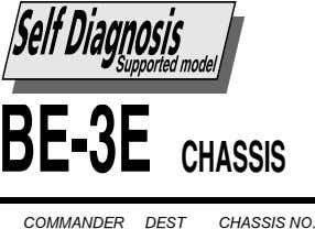 BE-3E CHASSIS COMMANDER DEST CHASSIS NO.