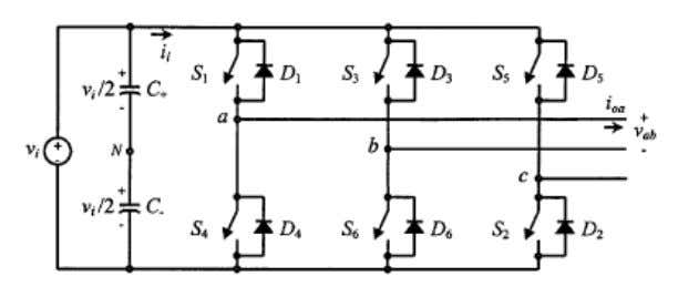 II. PROPOSED MC-UPQC SYSTEM A. Circuit Configuration The single-line diagram of a distribution system with an