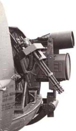 "A starlight scope with external illumination aboard a Bell UH ‐ 1 ""Huey"" helicopter, circa"