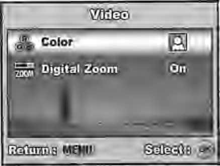the basic settings to be used when recording movie clips. 1. Rotate the mode dial to