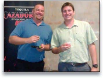 arOUnd haWaii Master Mixologist & Brand Ambassador for Corzo & Cazadores, Manny Hinojosa, hosted a