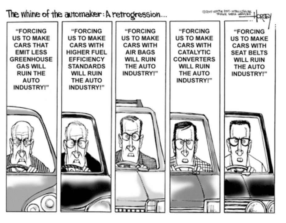 Argument by Example from David Horsey, Seattle PI, 15 March 2005. 9