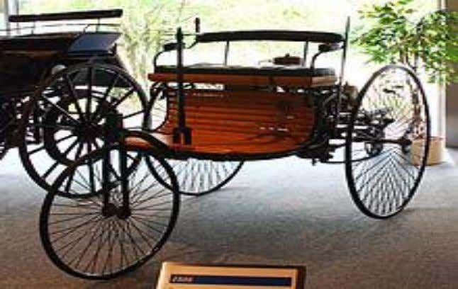 German Flocken Elektrowagen of 1888, regarded as the first electric car of the world Electric cars
