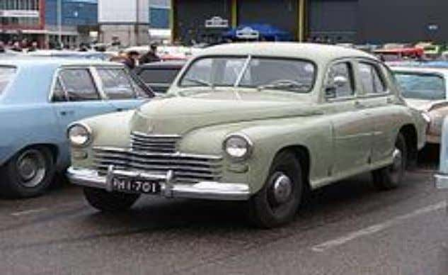  Further modifications in car design are:- GAZ-M20 Since World War II automobile design experienced the
