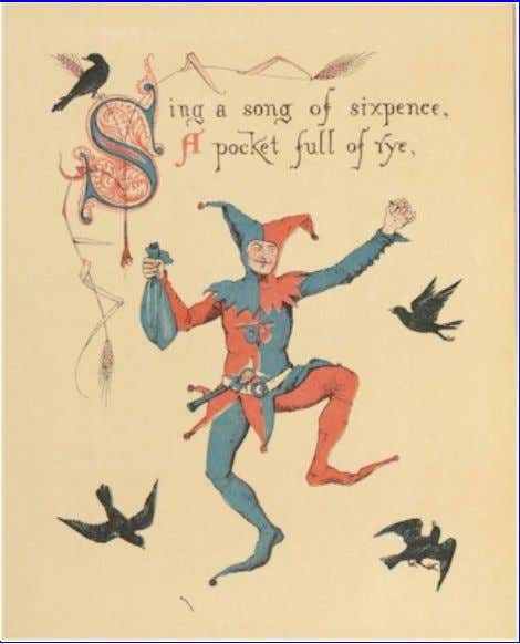 eBook of The Song Of Sixpence Picture Book, by Walter Crane. Sing a song of sixpence,