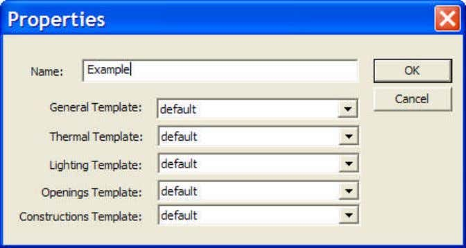 Template Manager can be assigned / changed for a room. 3.2.2. Sort There are 5 options