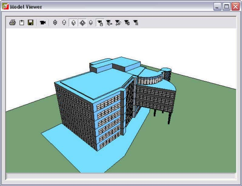 4.22. Model Viewer Pops-up the following window: The Pan, Orbit and Zoom buttons have been removed.